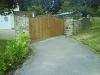 Block Paved Driveway & Wooden Gates